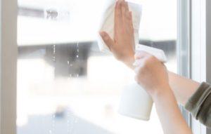 窓拭き掃除を休日にする