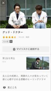 グッド・ドクター(韓国版)をフル動画無料視聴する方法