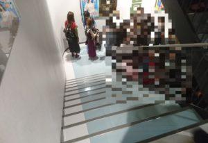 ローランド展名古屋パルコでの混雑状況
