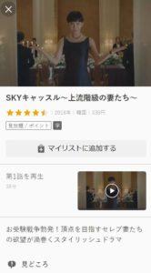 SKYキャッスル無料フル動画を視聴する方法